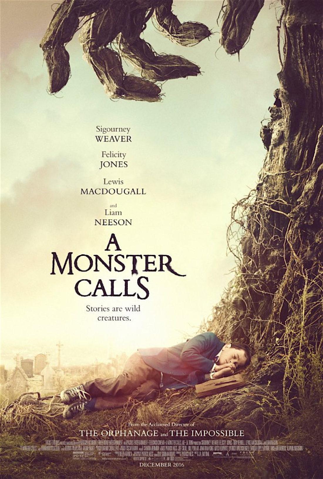 Filmplakat A Monster calls