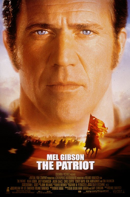 Kinoplakat The Patriot Mel Gibson